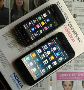 Nokia 5530  LG Optimus