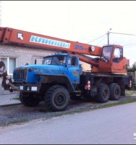 автокран Урал