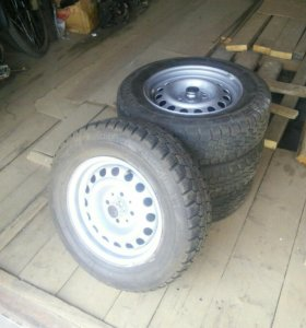 Колеса от ВАЗ 2104 колеса в сборе всесезонные