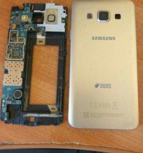 Samsung Galaxy A3 (2015) сломан