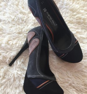 Туфли замша р 36