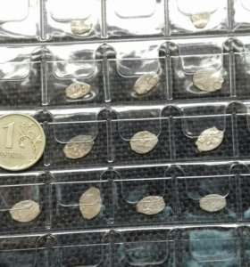Монеты чешуйки.