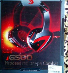 Игровые наушники bloody G500