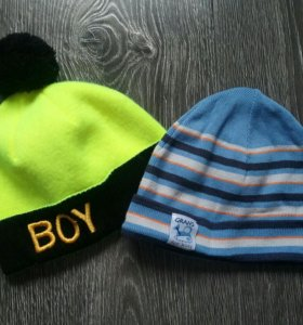 Две шапки на мальчика