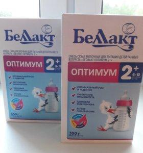 Смесь сухая молочная Беллакт ОПТИМУМ с 6 до 12 мес