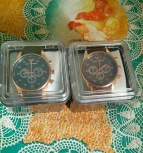 часы мужские 2 штук 1500