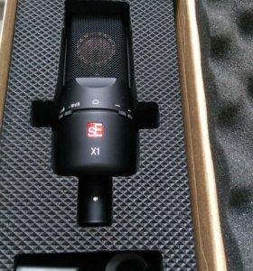 Продам студийный микрофон SE Electronics SE X1