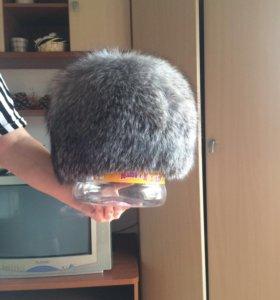 Шапка чернобурка