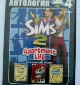 Sims 2 apartment life