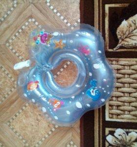 Круг для плаванья на шею детский.