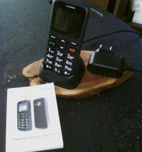 Сотовый телефон(новый) адаптированый для пожилых.