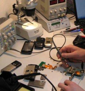 Ремонт телефонов, ноутбуков, системных блоков