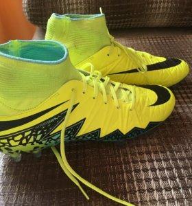 Футбольные бутсы,детские.Nike Hypervenom