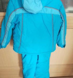 Зимний комплект куртка+ комбинезон