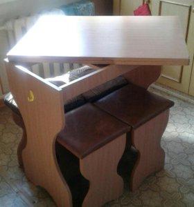 Стол кухонный-раздвижной