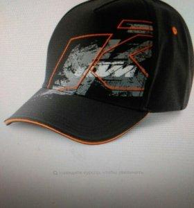 Кепка KTM (-мото - вело спорт)(новая)