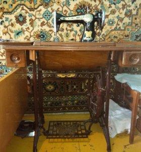 Китайская ножная швейная машинка начала 20 века