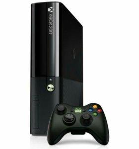 Xbox360+kinect+xkey+куча игр на жестком диске