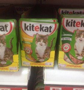 Корм для кошек Китекат