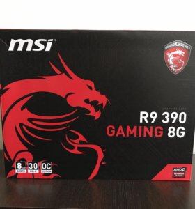 Видеокарта MSI R9 390 Gaming 8G
