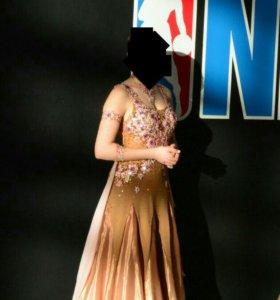 Платье стандарт для бальных танцев