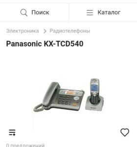 Радиотелефоны панасоник