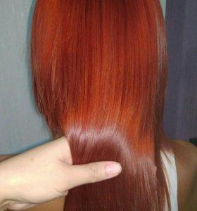 Кератин, ботокс волос, флисинг, полировка