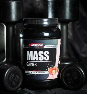 Гейнер Mass Gainer In Motion Muscle labs. 1500 гр