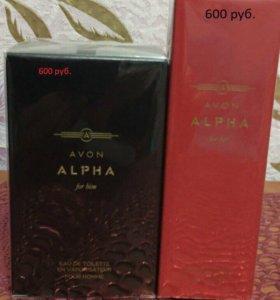 Духи Avon Alpha