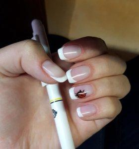 Ногти гель-лак😗