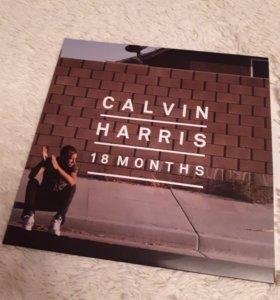 Пластинка виниловая 2 шт. CALVIN HARRIS 18 MONTHS