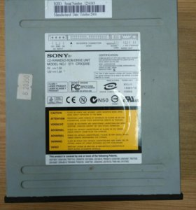 Дисковод Sony CD/DVD-RW