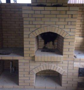 Изготовление печей, каминов и д.р