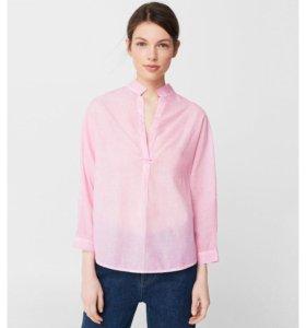 Розовая блузка 100 % хлопок 🌸 новая