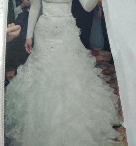 Свадебное платье 44_46 р.