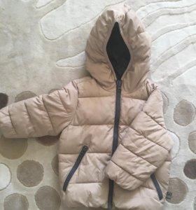 Куртка на мальчика 1-2 года Benetton