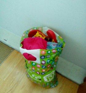 Вещи для девочки 2-4 года,пакетом.