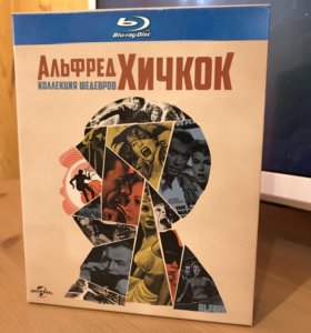 Коллекция шедевров: Альфред Хичкок (14 Blu-Ray)