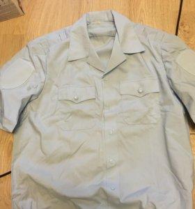 Рубашка полицейская с коротким рукавом МВД