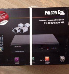 Комплект видеонаблюдения FE-104D