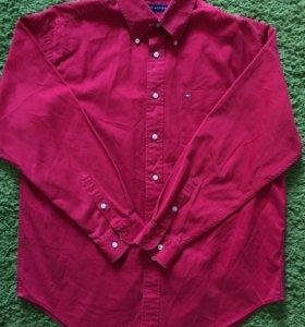 Tommy Hilfiger мужская красная рубашка
