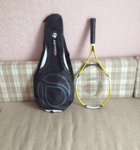 Детская теннисная ракетка