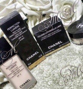 Пудра, тональная основа Chanel