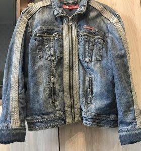 Джинсовая куртка размер l-xl