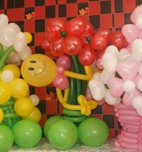 Гелевые.воздушные шары с доставкой