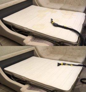 Химчистка ковров, мягкой мебели, салонов авто!!!
