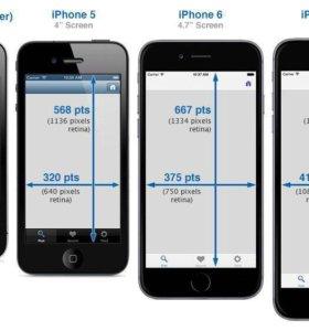 Дисплеи и тачскрина для Apple