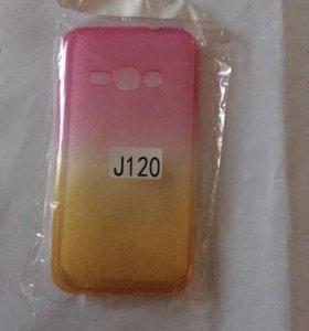 Силиконовый чехол для Samsung J1