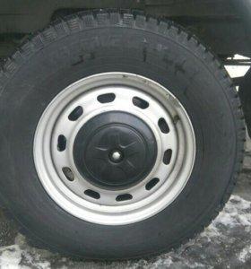 Резина с дисками  ГАЗ Соболь 4х4