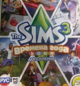 Дополнение к игре Sims 3 - времена года(original)